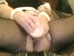 wife masturbating in a french maid outfit.