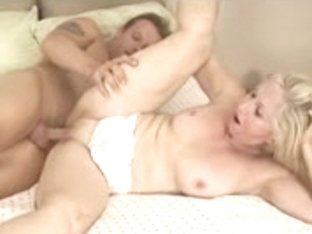 Golden-Haired Granny Loves the Smack of Cum