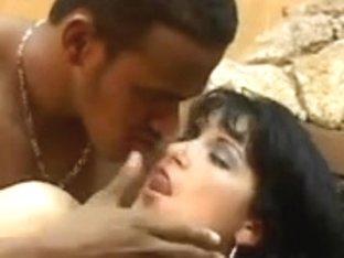 Bewitching brazilian beauty having anal sex