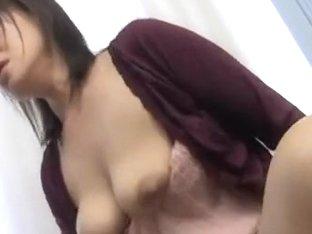 Japanese AV model is a hard fucking mature chick