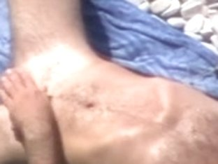 Voyeur beach Cutie does Blowjobs and prostate massage fellow