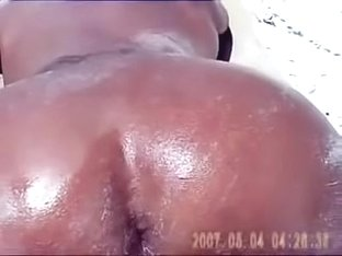 beach nude slut wife