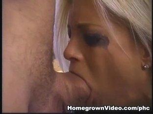 Brooke Hunter Choking on Large Pecker