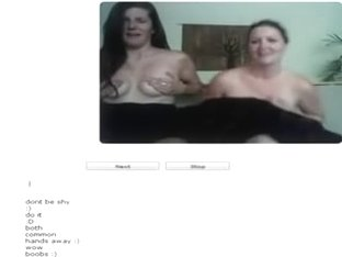 Chatroulette and shy cuties
