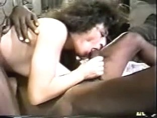 Dark on White Porn Movie White Wife in Group-Sex with Blacks