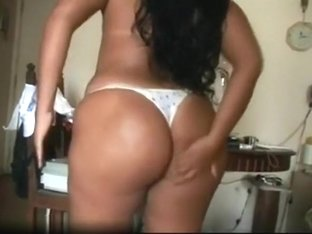 Latina with an amazing bottom
