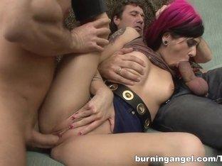 Best pornstar in Exotic Threesomes, Blowjob adult video