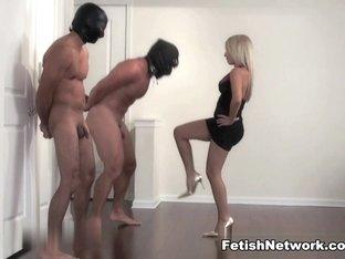 Horny pornstar in Amazing Femdom, Threesomes adult movie
