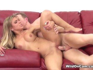 Incredible pornstar Aubrey Addams in Fabulous Cumshots, Fake Tits adult scene