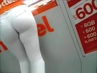 Hot nextel worker in tight pants