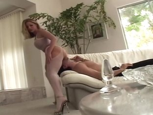 Hottest pornstar Aurora Snow in incredible blowjob, blonde sex movie