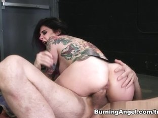 Hottest pornstars Erik Everhard, Joanna Angel in Fabulous Big Tits, Stockings sex video