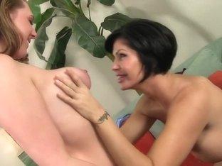 Hottest pornstars Jennifer Dark and Jillian Janson in exotic cunnilingus, lesbian adult video