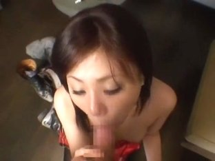 Crazy Japanese whore Anna Mutsumi in Amazing Blowjob, Fingering JAV clip