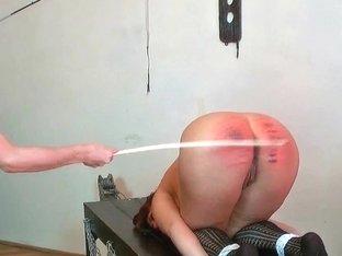 Needle punishment, hard caning, lesbo domination