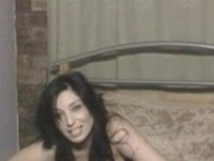 Michelle in a corset