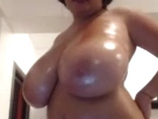 big oiled melons