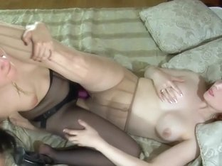 Pantyhose1 Clip: Mabel and Rita
