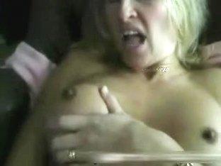 Fucking my busty blonde really hard