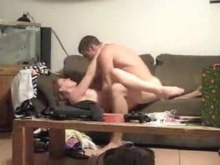 Homemade porn couple Copulates in the daybed