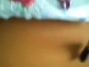 Youthful excited pair make a bedroom sextape