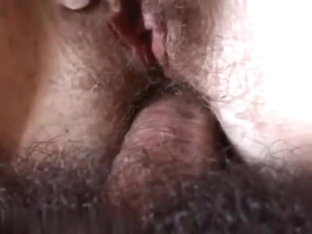Strapon for her bush unfathomable inside