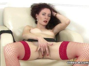 Horny pornstar in Incredible Masturbation, Stockings adult scene