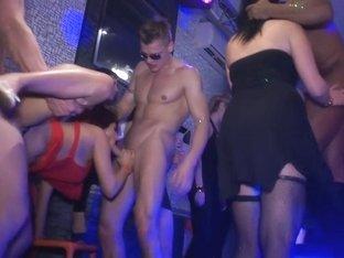 Horny pornstar in crazy amateur, group sex adult movie