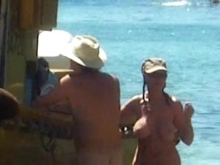 busty nudist mature woman