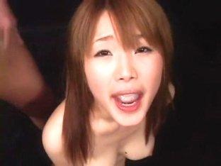 Saki Tsuji in Enormous Breasts School Girl