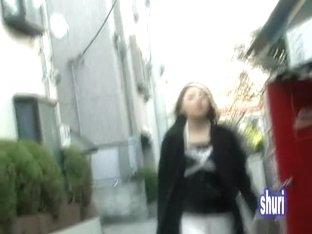 Serving slut going home from work when she meets sharking dude