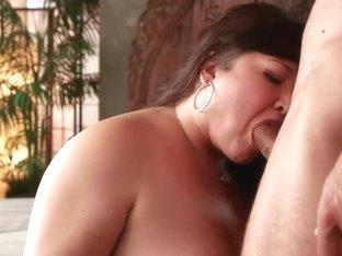 Hottest pornstars Kelly Shibari and Scarlet Lavey in horny hardcore, anal sex scene