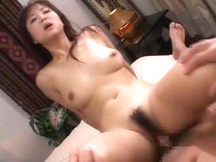 Crazy Japanese slut Maki Hoshino in Amazing Cumshots, Solo Girl JAV clip
