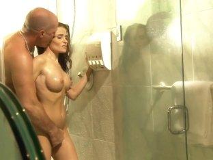 Amazing pornstar Ginger Lea in exotic brazilian, mature sex clip