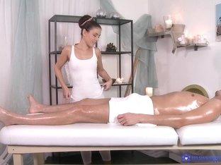 Best pornstars Eva Strauss, Johny in Amazing Massage, Brunette xxx clip