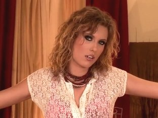 Horny pornstar in hottest striptease, blonde porn video
