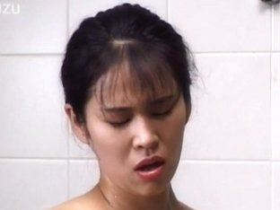 Japanese AV Model showers her hot titties
