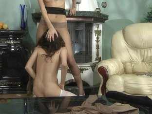 Pantyhose1 Movie: Cora and Agatha B