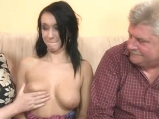 This Babe is enticed by his old parents
