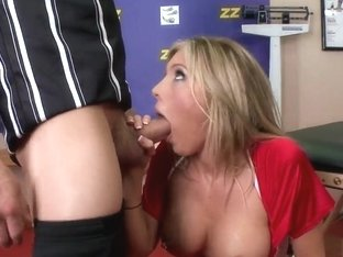 Samantha Saint likes sucking dick on camera