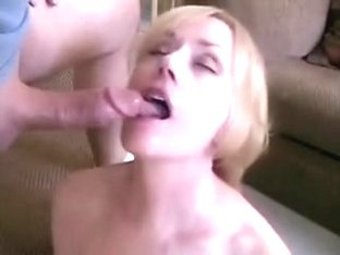Mature and lad roleplay fuck and facial