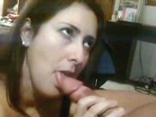 girlfriend sucks and swallows