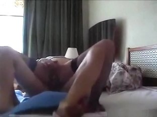 Cute brunette girl has oral, missionary and cowgirl sex.