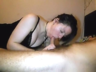 One night stand partyslut was on her time, so a bj had to do.