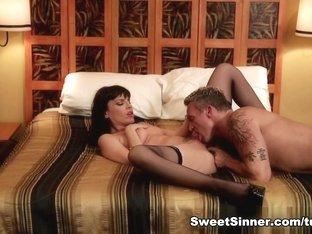 Crazy pornstars Marcus London, Dana DeArmond in Hottest Pornstars, Cunnilingus xxx movie