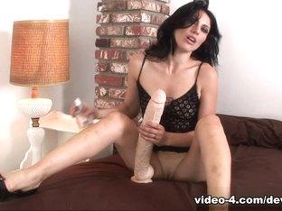 Crazy pornstars in Best Masturbation, Latina adult video