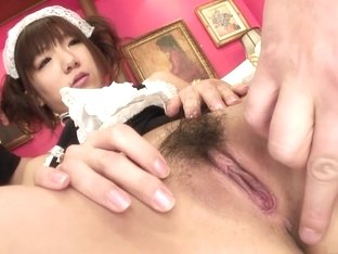 Fabulous pornstar Mahiru Tsubaki in hottest hairy, facial sex scene