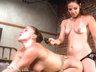 Best fetish xxx video with amazing pornstars Bobbi Starr and Kirra Lynne from Whippedass