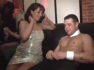 Exotic pornstar in crazy blonde, group sex xxx scene