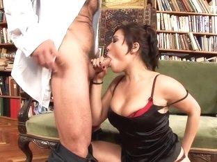 Fabulous pornstar London Keys in hottest facial, college adult video